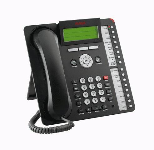 Avaya 1616-I IP Phone Black Refurbished