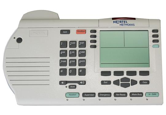 Nortel Option M3905 Phone Platinum