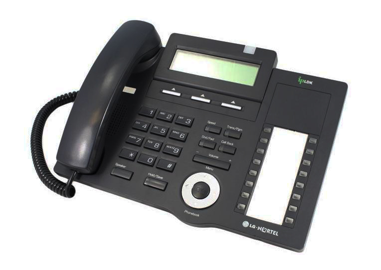 LG LDP-7016D Black Telephone Refurbished
