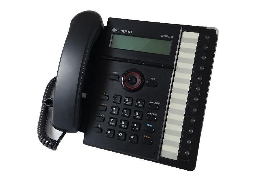 LG LIP-8012E IP Phone Black