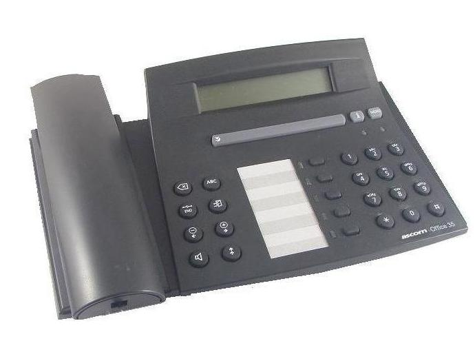 Ascom Office 35 Handset Black