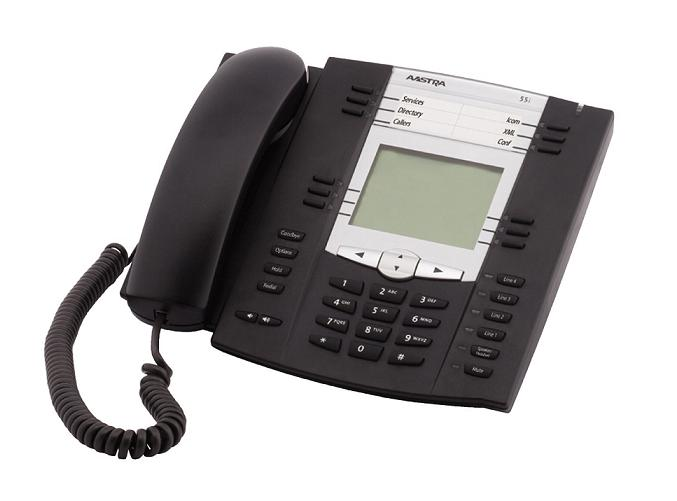 Aastra 6755I IP Phone Black