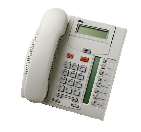 Nortel T7208 Telephone Platinum