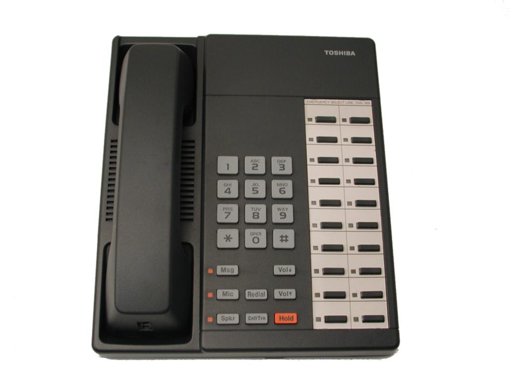 Toshiba DKT2020F-S 20 Key Speakerphone Charcoal