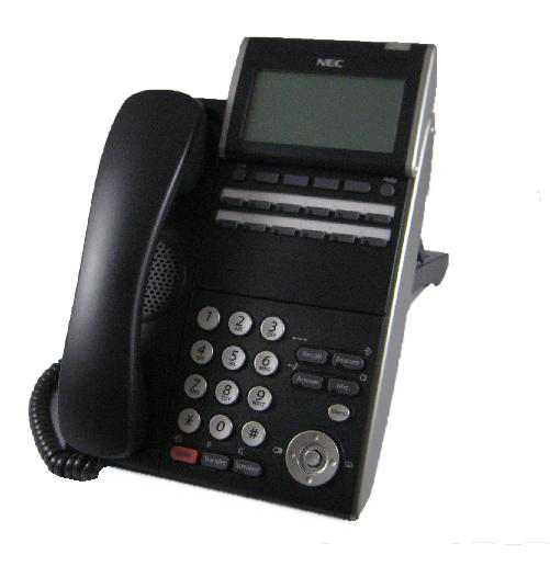 NEC DTL-12D-1P Phone Black