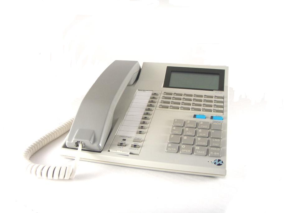 Nitsuko DX-M24ED Series-1 Telephone White