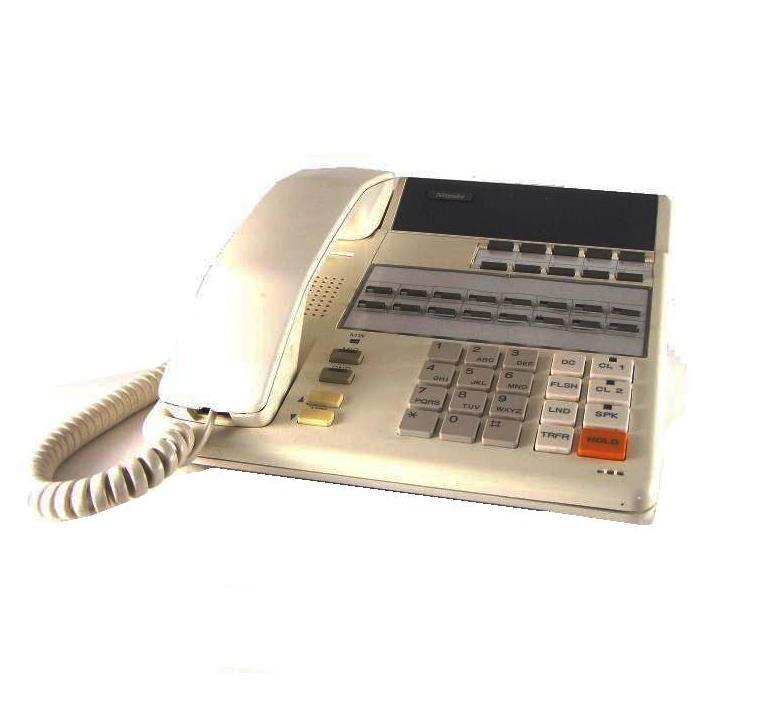 Nitsuko DX2E-16T Telephone White