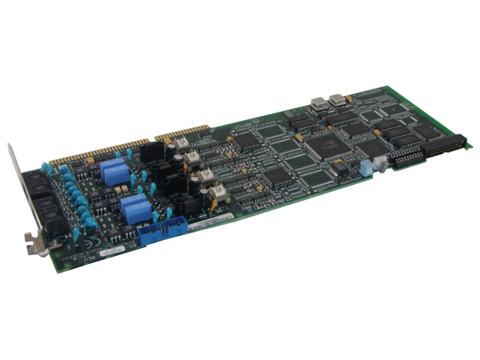 Dialogic D/41E-Euro Voice processing Card 4 Port