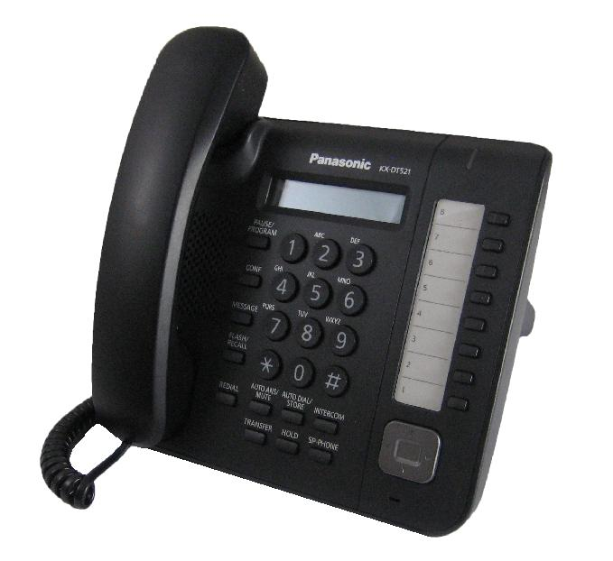 Panasonic KX-DT521 Digital Telephone Black