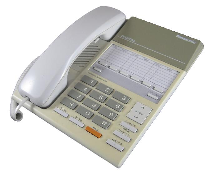 Panasonic KX-T7250E Series Telephone White