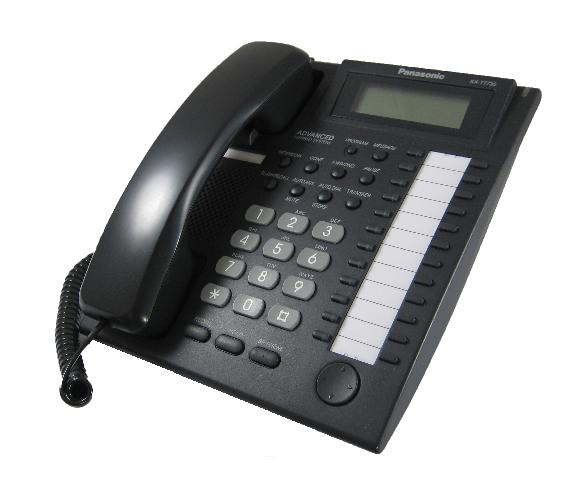 Panasonic KX-T7735E Digital Telephone Black