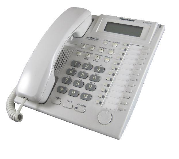 Panasonic KX-T7735 Digital Telephone White