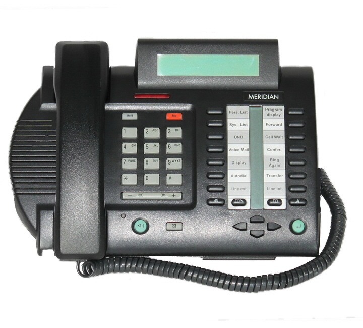 Nortel Meridian M3820 Telephone Black