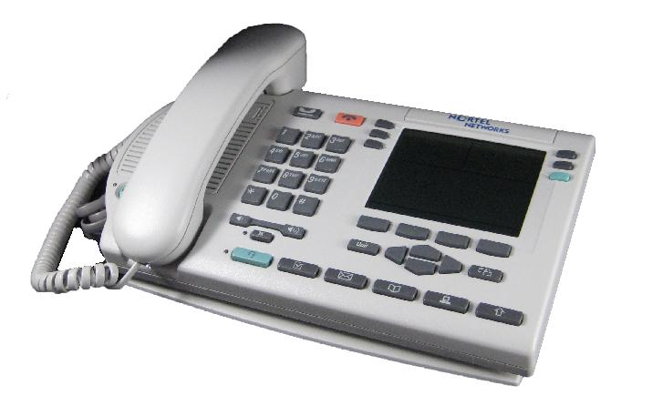 Nortel Option M3904 Phone Platinum