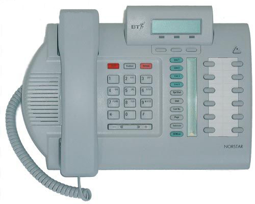 Nortel Meridian M7310N Telephone Grey