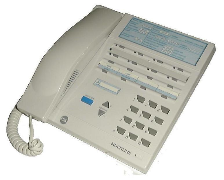 Siemens MULTILINE 8 Phone White
