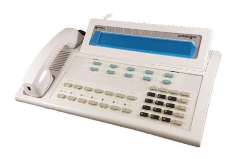 Mitel Superset 6DN Console White Refurbished