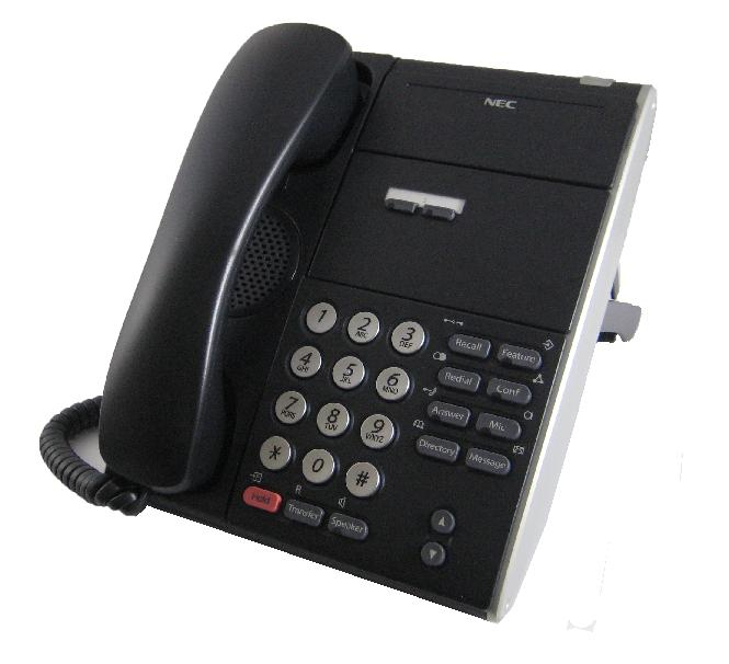 NEC DTL-2E-1P Phone Black