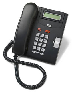 Nortel T7100 Charcoal Telephone