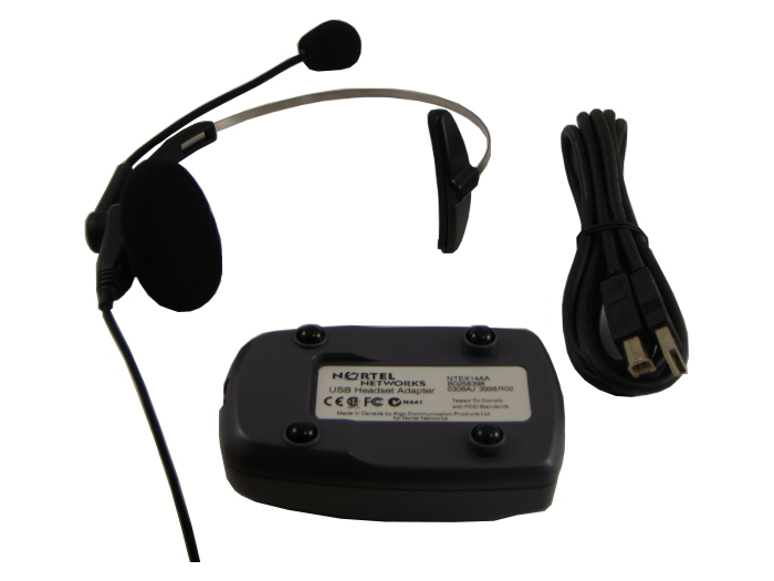 Nortel USB Headset Kit - B0258398 - New