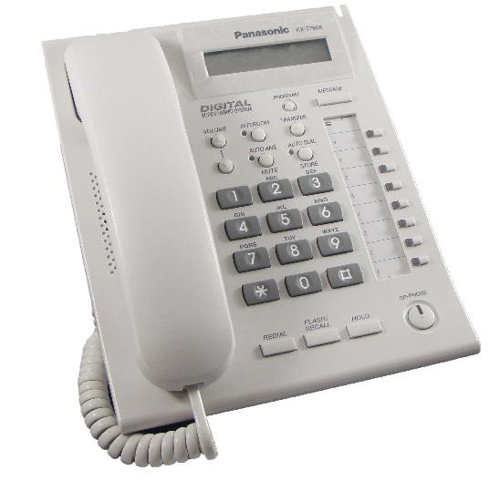 Panasonic Kx T7668 Telephone Grey