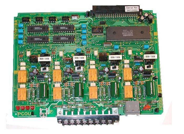Toshiba PCOU2F 4cct Analogue Trunk Card