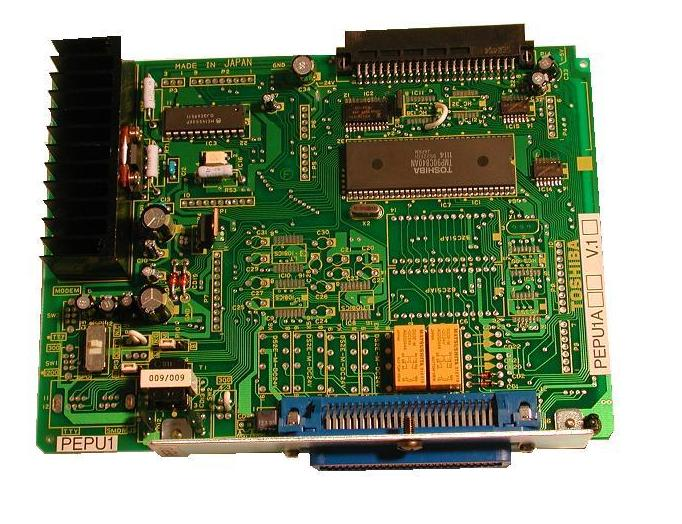 Toshiba External Page Interface Circuit Card