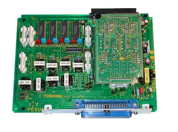 Toshiba DK PESU1F 4-Key 2-wire Extension Card