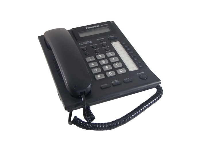 Panasonic KX-T7668 Telephone Black