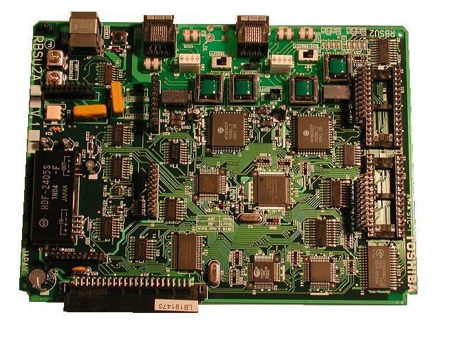 Toshiba RBSU2A Basic Rate ISDN2 Trunk Card