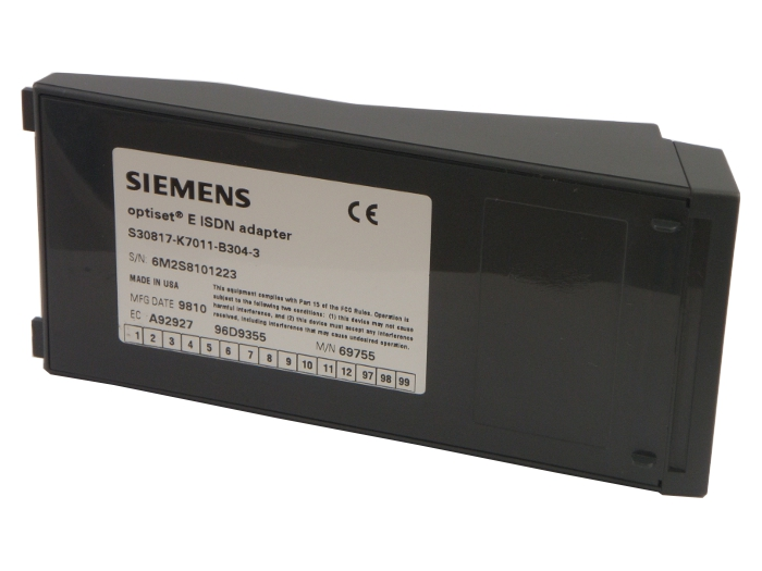 Siemens Optiset E ISDN Adaptor