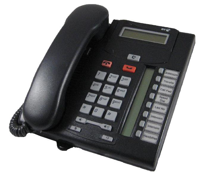 Nortel T7208 Telephone Charcoal