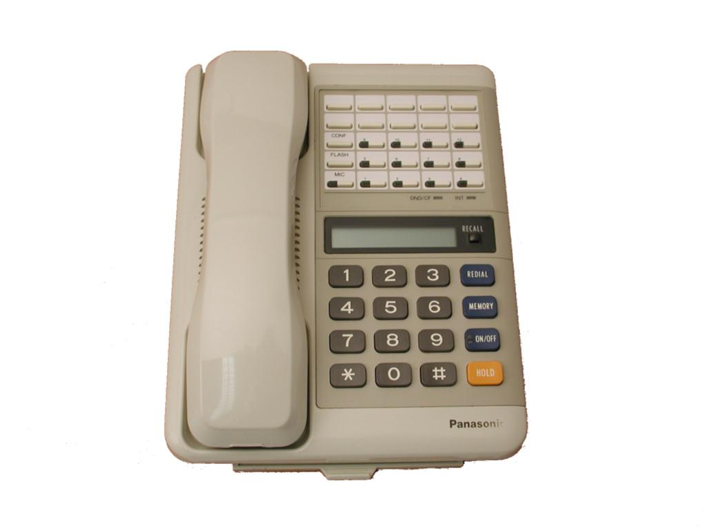 Panasonic VA-12022 Handsfree Phone White