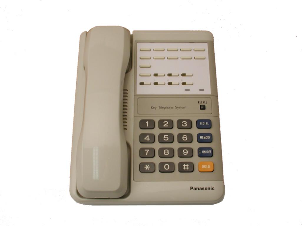Panasonic VA-30920 6 Key Standard Telephone White
