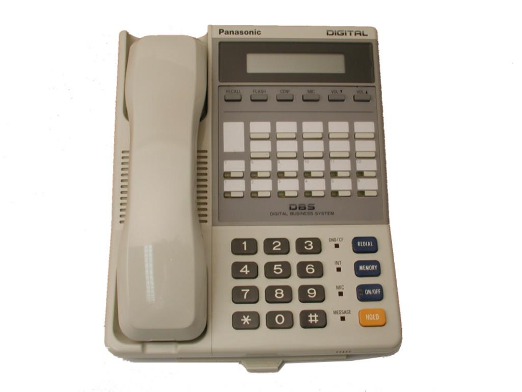 Panasonic VB-3411DS Telephone White
