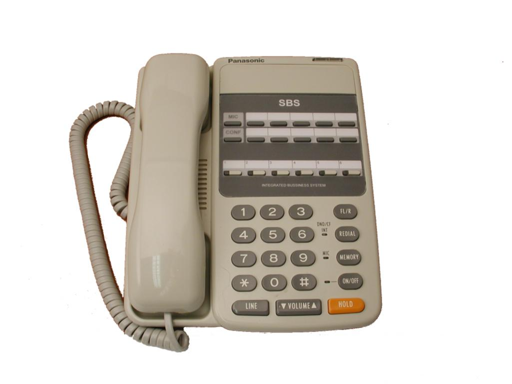 Panasonic VB-9211 Telephone White