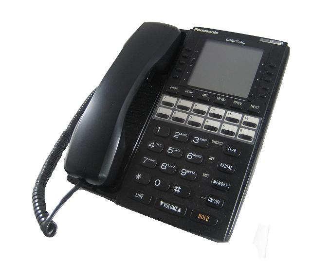 Panasonic VB-D411LDSUB Black Large Display Telephone