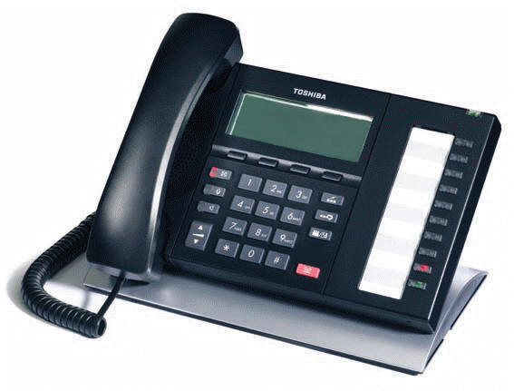 Toshiba DP5022F-SD Digital Telephone Black