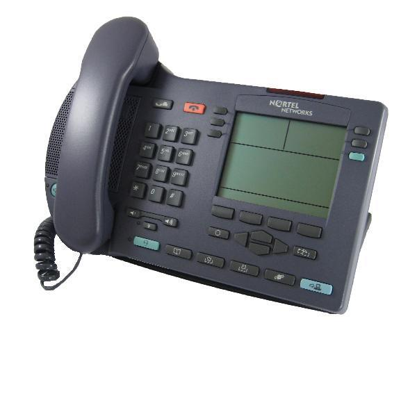 Nortel i2004 IP Telephone Ether Grey