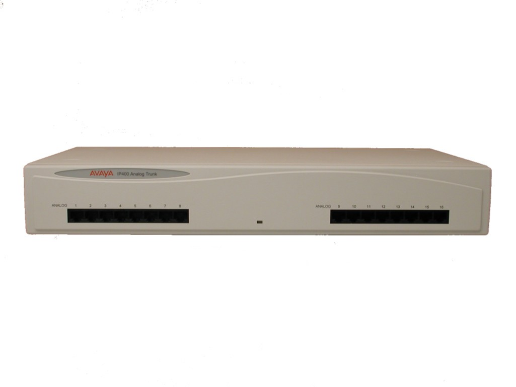 Avaya IP400 Analogue Trunk 16 Ports - New