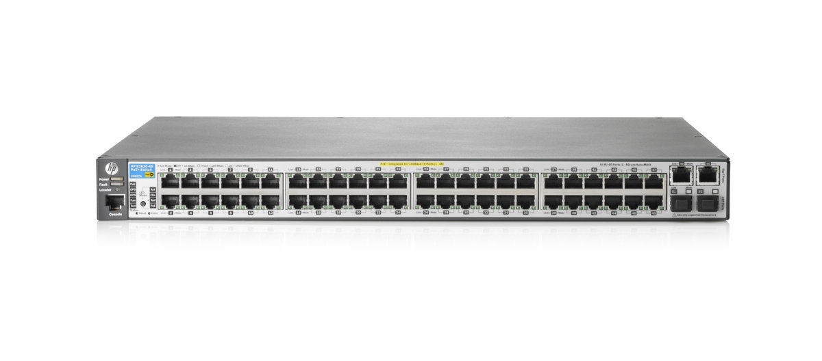 HP 2620-48-PoE+ J9627A Switch