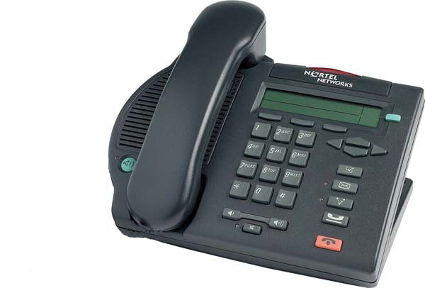 Nortel Option M3902 Phone Charcoal