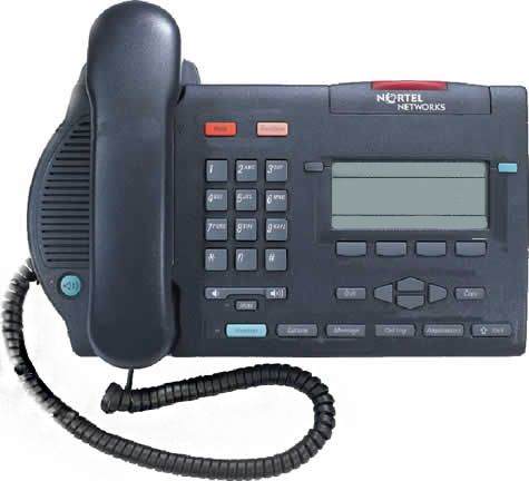 Nortel Option M3904 Phone Charcoal