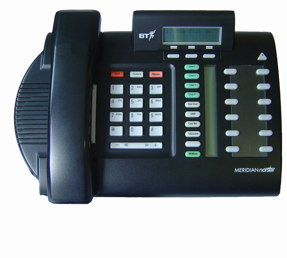 Nortel Meridian M7310N Telephone Black