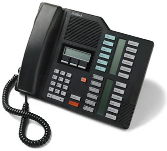 Nortel Meridian M7324 Telephone Black