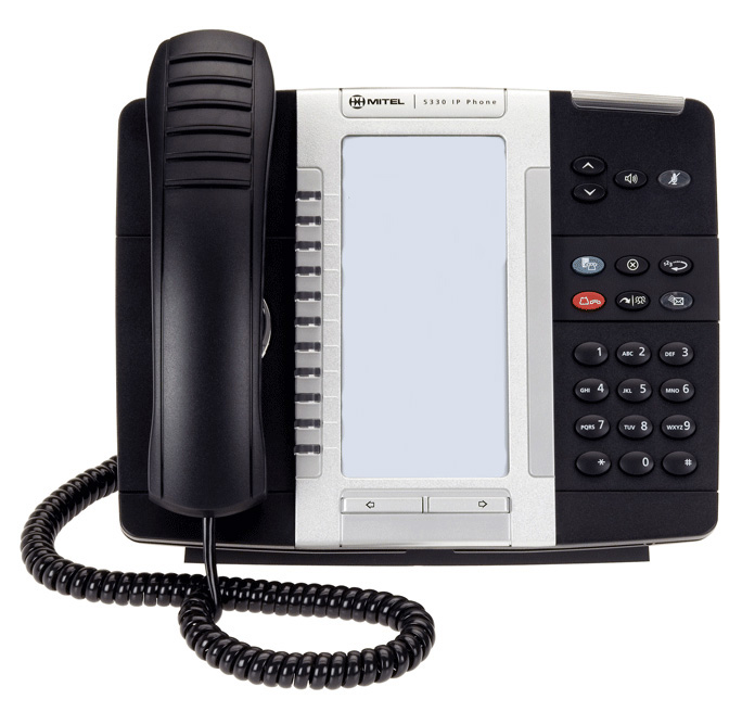 Mitel 5330 IP Phone Non Backlit Display